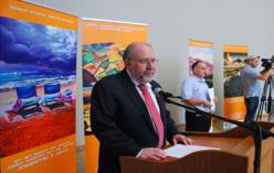 """პროგრამის """"საქართველოს რეგიონებში კლიმატის ცვლილებისადმი ადაპტაციისა და ზემოქმედების შერბილების ზომების ინსტიტუციონალიზაცია"""" გახსნა (2012 წლის 27 ივლისი) )"""